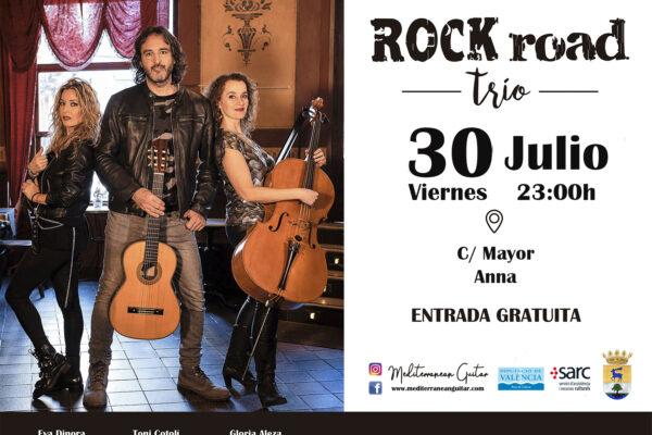 CARTEL Rock Road Trío ANNA